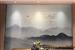 家装背景墙装修山水画调光玻璃屏风应用